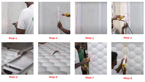 Know How to Install 3D Wall Panels hassle free!