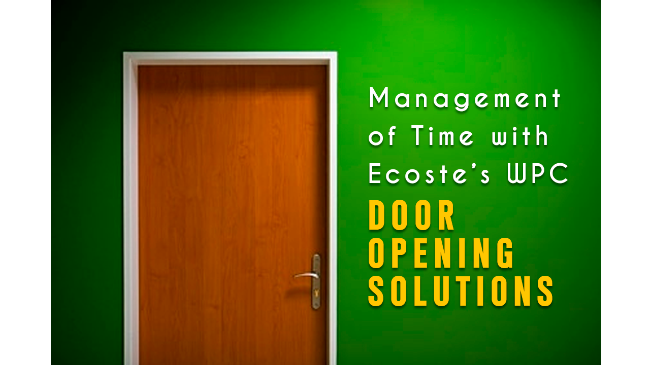 3 Reasons Why Every Group Housing Builder need Ecoste Door Opening Solutions